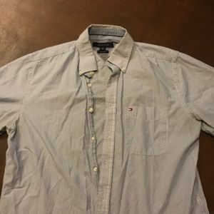 Tommy Hilfiger Button down short sleeve
